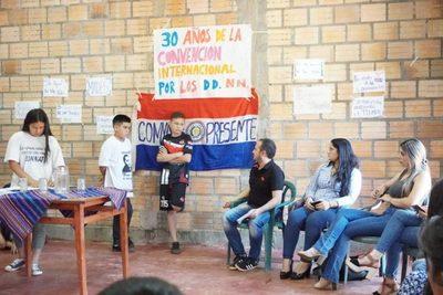 """Directores municipales participaron del """"Diálogo con la Niñez y la Adolescencia"""""""