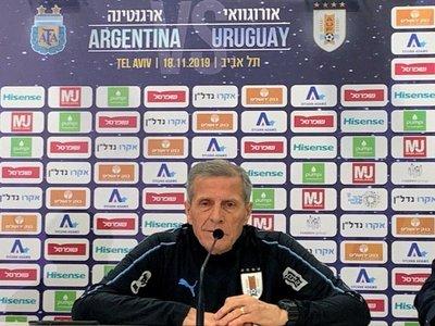 """Tabárez considera tras el empate con Argentina que Uruguay """"dio la talla"""""""