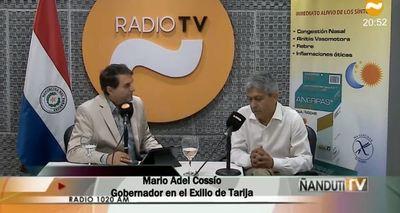 """""""Hubo golpe, pero el golpe lo dio Evo Morales"""", sostiene exgobernador boliviano"""