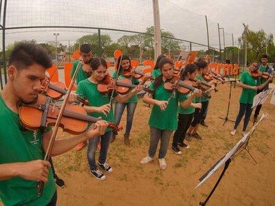 H2O de Ñemby converge música y medioambiente en el Municipal