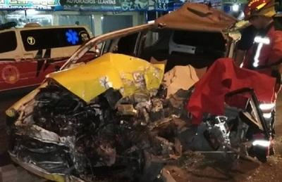 Taxista muere en accidente de tránsito en Capiatá