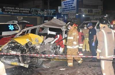 Taxista fallece en terrible accidente •
