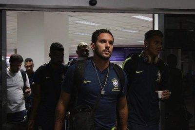 Llegó el campeón del mundo Brasil, para defender su título