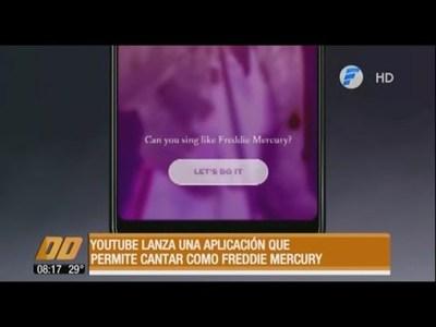 La nueva aplicación que te permite cantar como Freddie Mercury