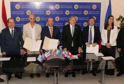 OEA acuerda en Paraguay intercambio y difusión de información a nivel América Latina
