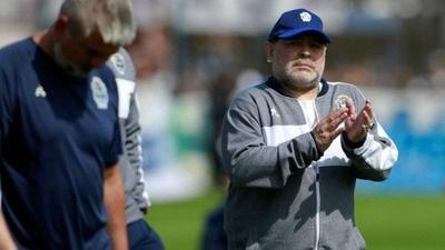 HOY / Maradona renuncia como entrenador de Gimnasia