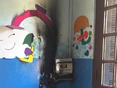 Principio de incendio causa susto en guardería del IPS