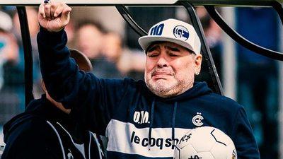 Maradona dejó de ser entrenador de Gimnasia