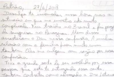 "La supuesta carta de Messer ""pecheando"" plata a Cartes"