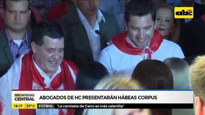 Abogados de HC presentarán hábeas Corpus
