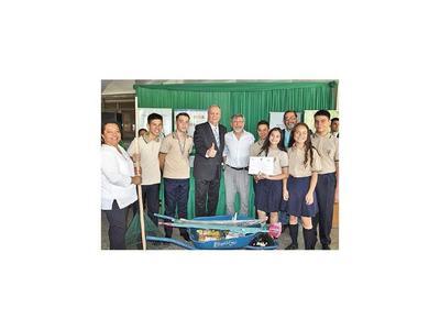 Diez colegios son premiados       en la  campaña Reciclando todo