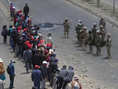 Se agrava la crisis boliviana con nuevos enfrentamientos y muertos