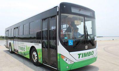 El próximo lunes presentarán oficialmente los buses eléctricos