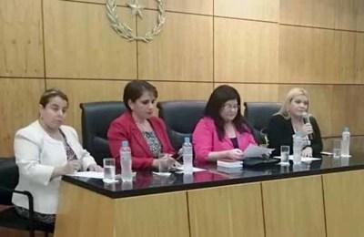Primer Conversatorio Nacional de Jueces de Sentencia