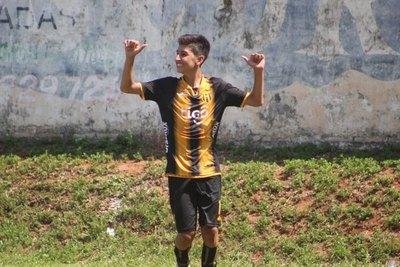 El hermano de Nelson Haedo Valdez tuvo su estreno goleador