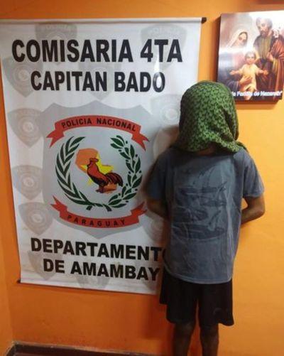 Detienen a miembro del PCC en Capitán Bado
