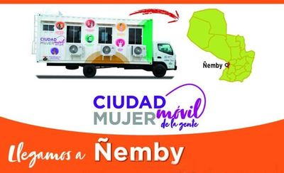 Ñemby será el próximo destino de Ciudad Mujer Móvil