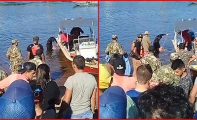 Encuentran cadáver de uno de los adolescentes ahogados en el Paraná
