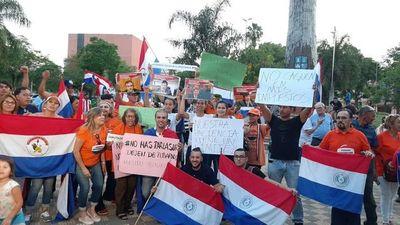 Protestan contra gasto del Parlasur y otros despilfarros en el PGN 2020