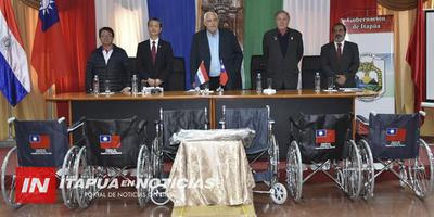 ADQUIEREN 180 SILLAS DE RUEDAS Y RELAJACIÓN PARA ITAPÚA