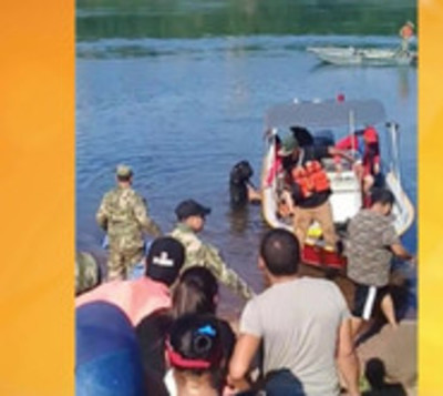 Hallan sin vida a joven desaparecido en aguas del río Paraná