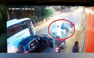 Policías saplearon a motociclistas que obstaculizaron el tránsito