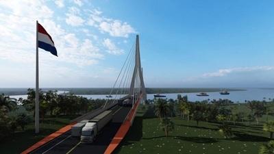 Avanzan trabajos para la construcción de nuevo puente con Brasil