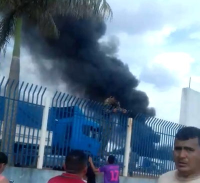 Cae helicóptero de la SENAD en Pedro Juan