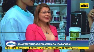 Cosmetología: una especialidad con amplia salida laboral