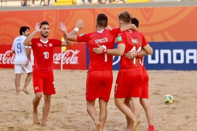 Suiza abrió el grupo A con triunfo ante Estados Unidos
