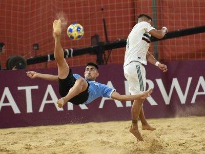 Uruguay gana en el último suspiro