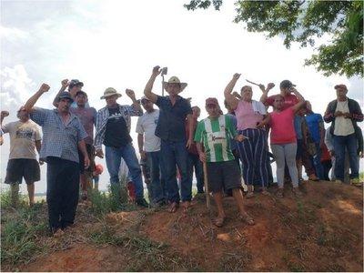 Sintierras regresan a predio tras desalojo en Curuguaty