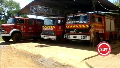 Bomberos de San Lorenzo cumplen 27 años