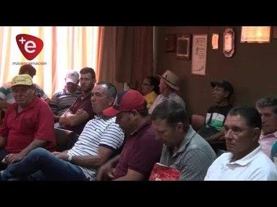 FRIEDMANN SE REUNIÓ CON AGRICULTORES DE ITAPÚA