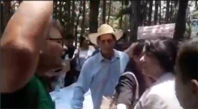 Payo y otros militantes agreden a una Concejal de Patria Querida