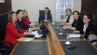 Fiscales Anticorrupción se reunieron con el Ministro de la Seprelad