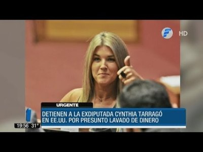 Cynthia Tarragó detenida en EE.UU. por lavado de dinero
