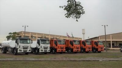Gobernación de Boquerón destinó G. 4.497 millones en compra de camiones