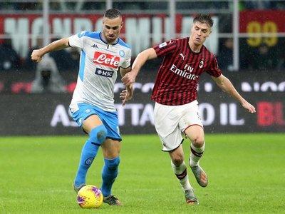 Napoli empata en San Siro ante el Milan