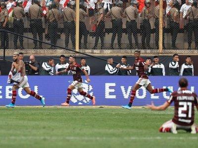 Gabigol le da su segunda Libertadores a Flamengo