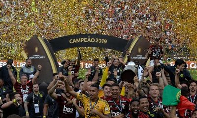 "En un final de película, ""Gabigol"" le da la Copa Libertadores a Flamengo"