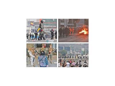 Las botas militares vuelven a pisar las calles de Latinoamérica