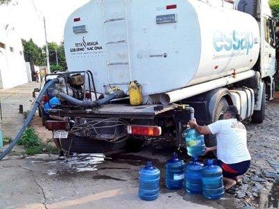 Essap culmina trabajos y miles de familias están expectantes por la reposición de agua