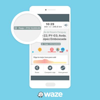 Ya puedes consultar y comparar precios de peajes con Waze
