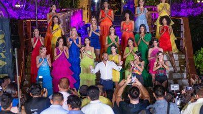 Cabure en el México Fashion Show