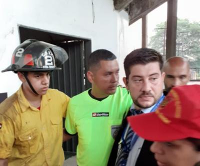 HOY / La salud del árbitro López no corre peligro