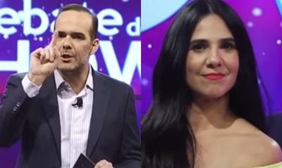 Álvaro Mora 'reaccionó' ante un reclamo de Norita Rodríguez