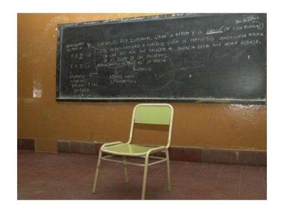 """En colegios con pocos  alumnos los profesores """"rabonean"""""""