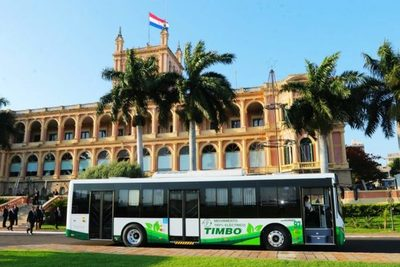 Empresa del transporte público incorpora nuevos buses eléctricos