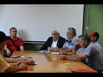 POBLADORES DE EDELIRA PRESENTARON PROYECTOS AL GOBERNADOR DE ITAPÚA